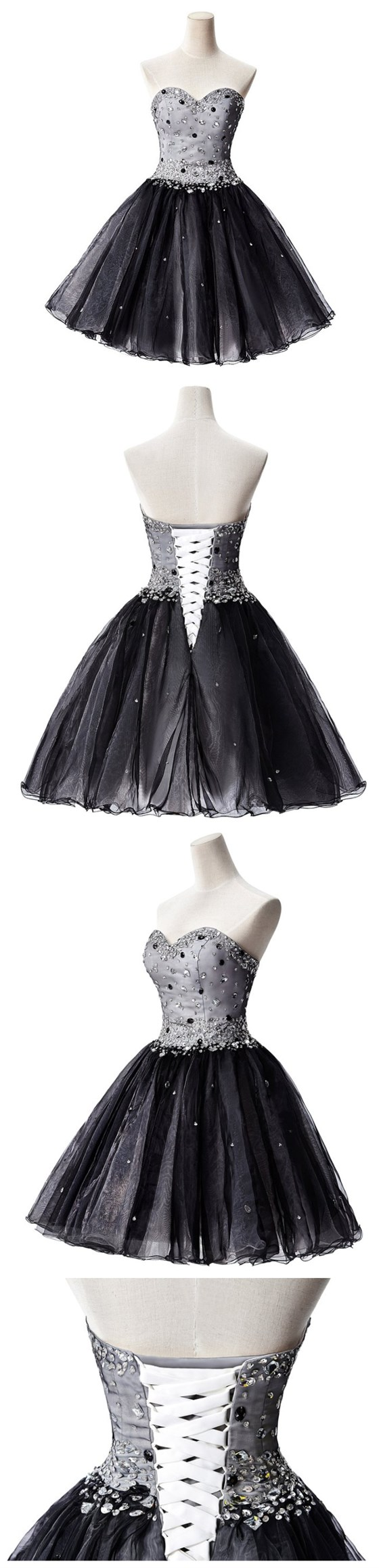 Homecoming dress short homecoming dress little black prom dress