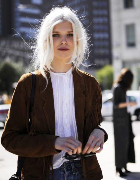 25 jolies façons de porter les cheveux blancs Hair style