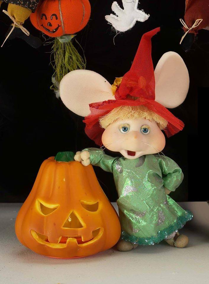 Topo Gigio en halloween