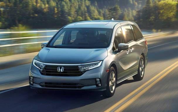 2021 Honda Odyssey Was To Be Unveiled At The New York Auto Show 2020 Honda Odyssey Honda Mini Van