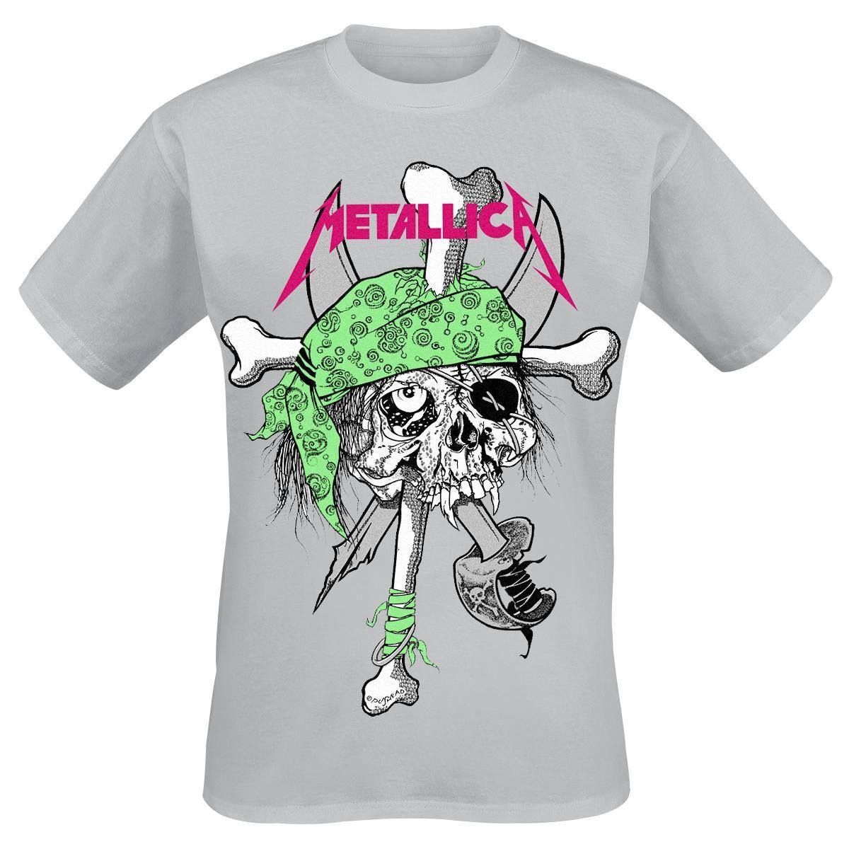 Zinc shirt design - Classica T Shirt Uomo Grigia Flou Pirate Zinc Dei