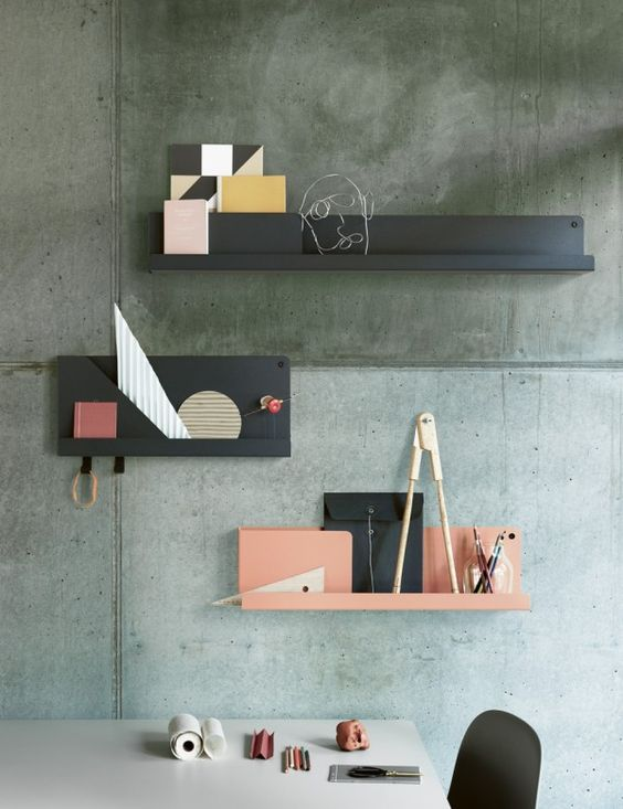 Trend Alert The Tiny Shelf With Images Wall Storage Systems Shelves Scandinavian Design