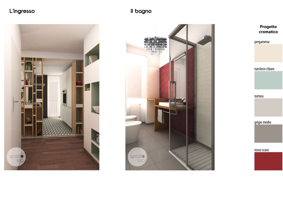 Spazio 14 10 architettura interni low cost roma rob for Cabina armadio low cost