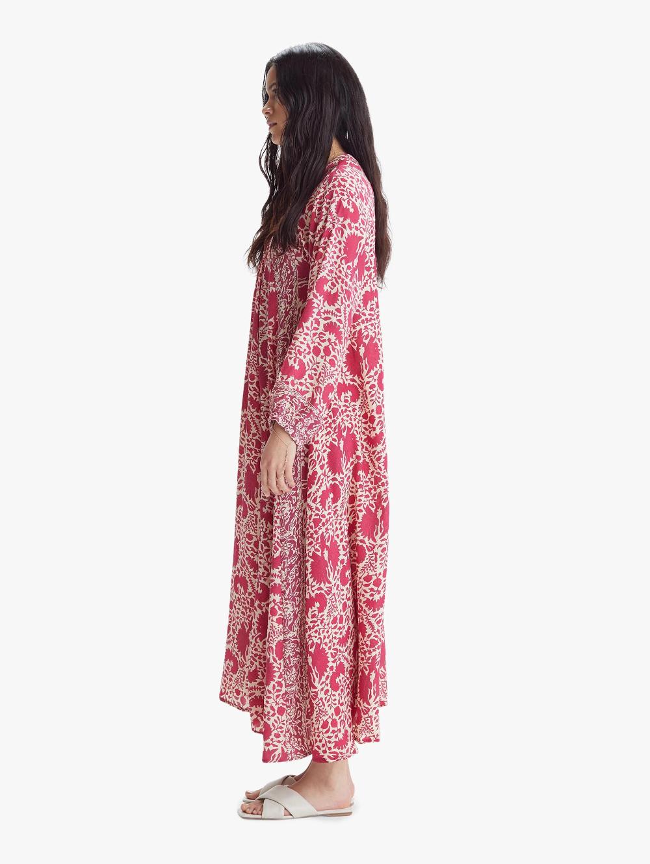 Natalie Martin Fiore Maxi Dress Bougainvillea Pink Womens Dresses Maxi Dress Womens Skirt [ 1330 x 1000 Pixel ]