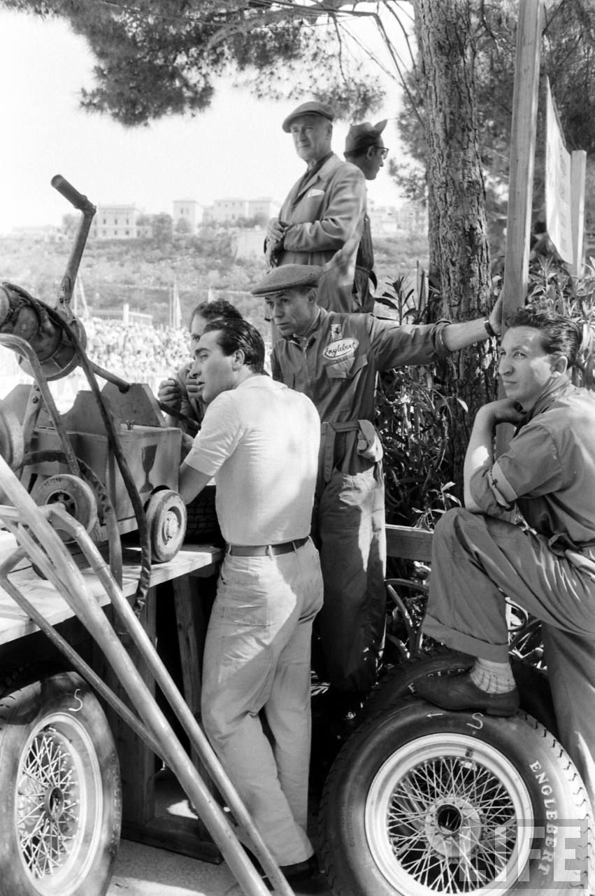 Eugenio Castellotti GP Monaco 1956