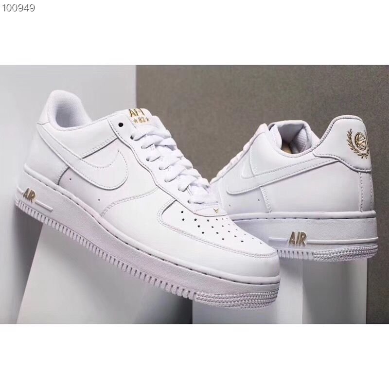 hot sales ac82a d1a0c Nike Air Force 1 Low Crest Logo