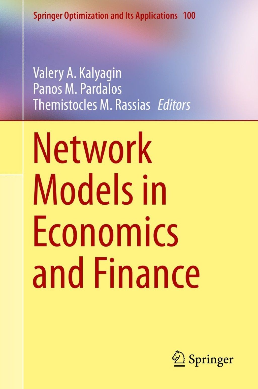 Network Models In Economics And Finance Ebook Finance