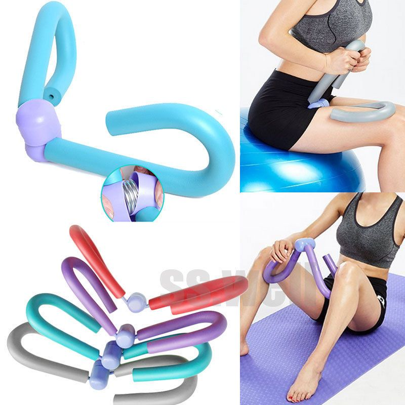 Purple Multifunctional Thigh Leg Arm Muscle Exercise Training Tool Gym Sports Thigh Master Fitness Workout Equipment Body Building