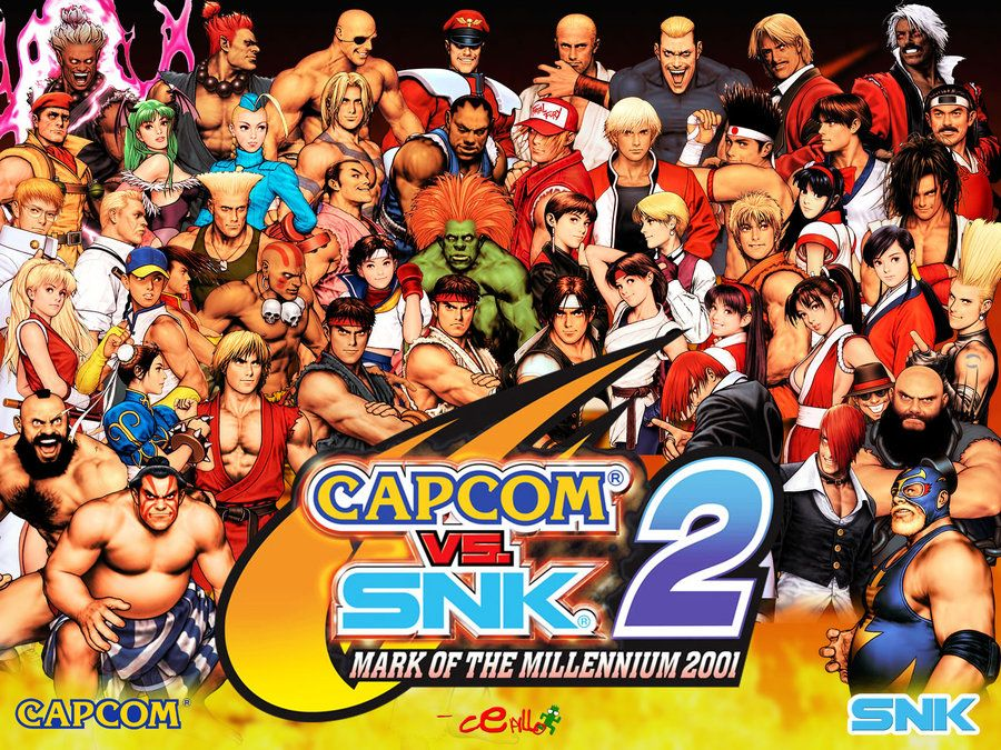 Capcom Vs Snk 2 Wallpaper By Cepillo16 Deviantart Com On Deviantart Capcom Vs Snk Capcom Vs Capcom