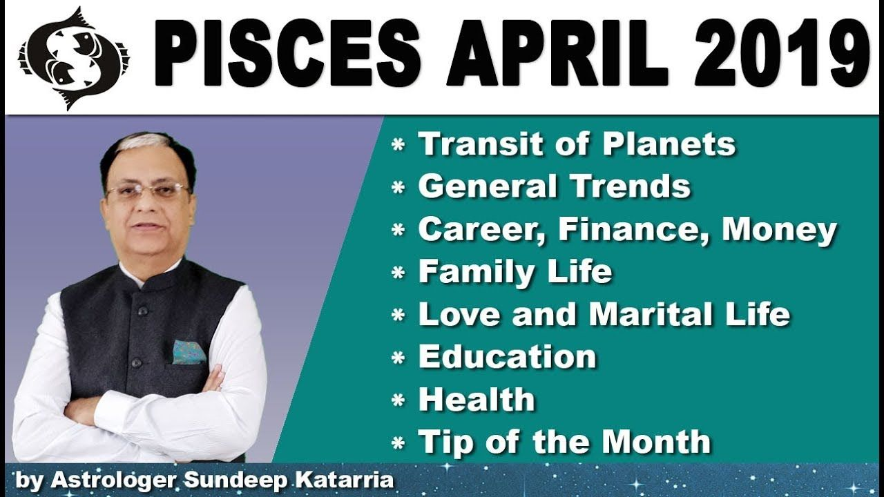 PISCES Horoscope | Pisces Monthly Forecast | April 2019 Astrology