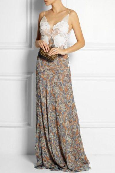 Lindos vestidos de festa longos e estampados para madrinhas e convidadas de casamento em 2015! Image: 39