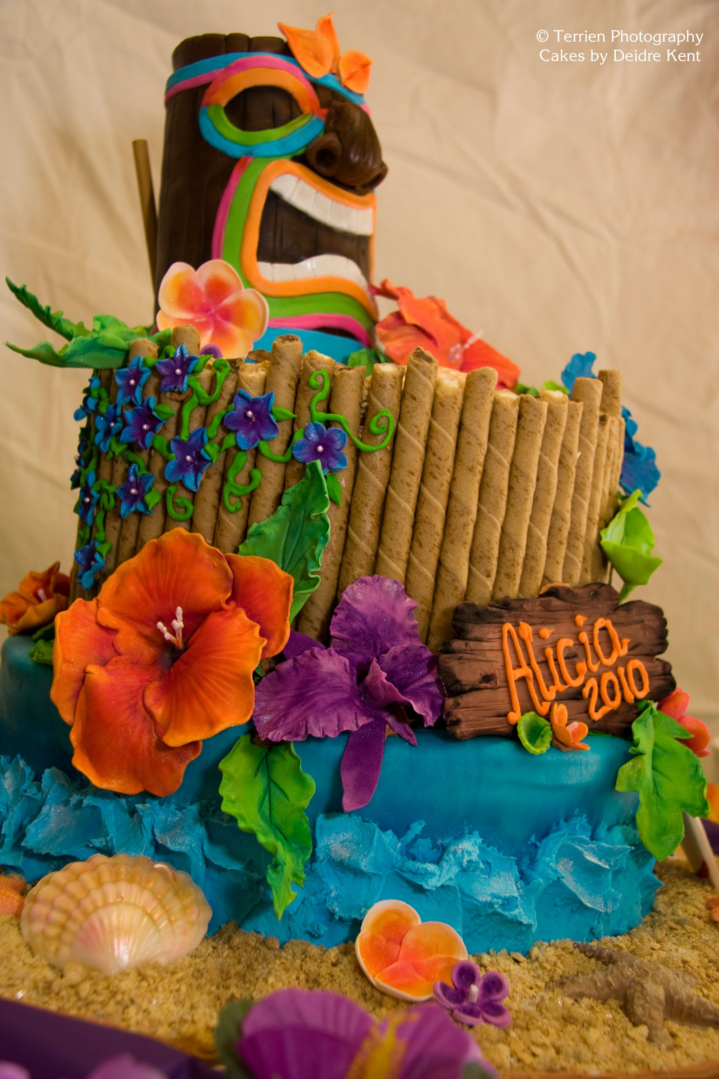 Graduation Luau Cake - Cake Decorating Community - Cakes ...