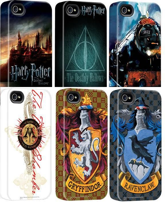 Harry Potter iPhone cases!!!!!