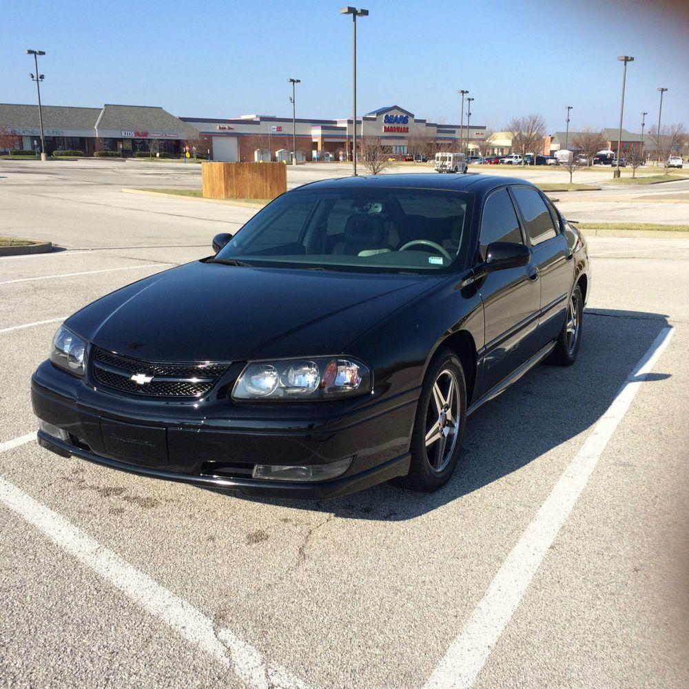 Chevrolet impala ss sedan 4 door 05 chevy impala ss supercharged 3 8 l v 6 black w gray interior