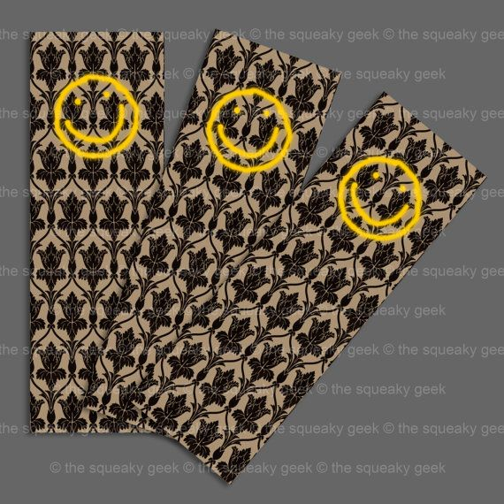 BBC Sherlock Smiley Face On Wallpaper Bookmark By TheSqueakyGeek GBP100