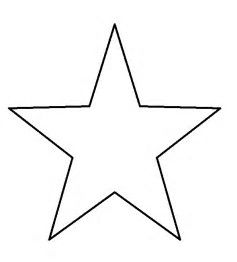 Image result for Large Star Template to Print | Star ...