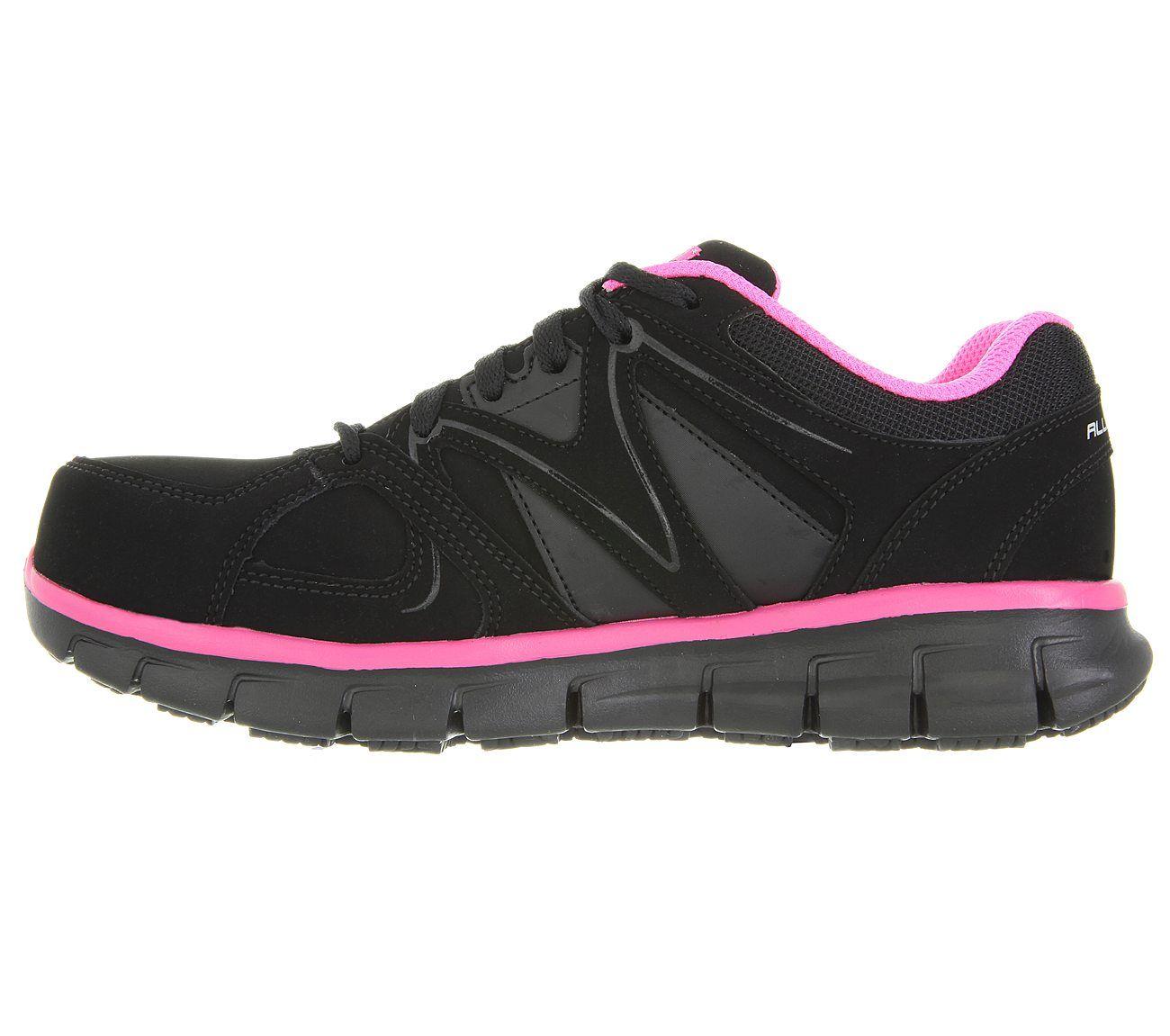 Work Synergy Sandlot Alloy Toe Slip resistant shoes