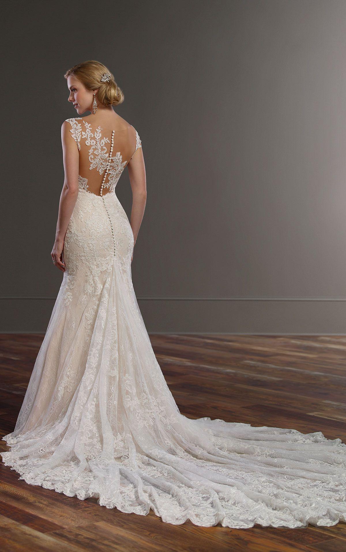 Wedding Gowns Long train wedding dress, Wedding dresses