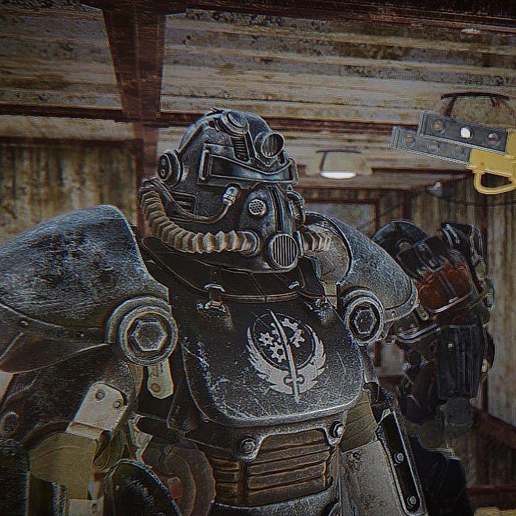 Classic Bos T51 Power Armor Fallout Fallout4 Gaming Powerarmor