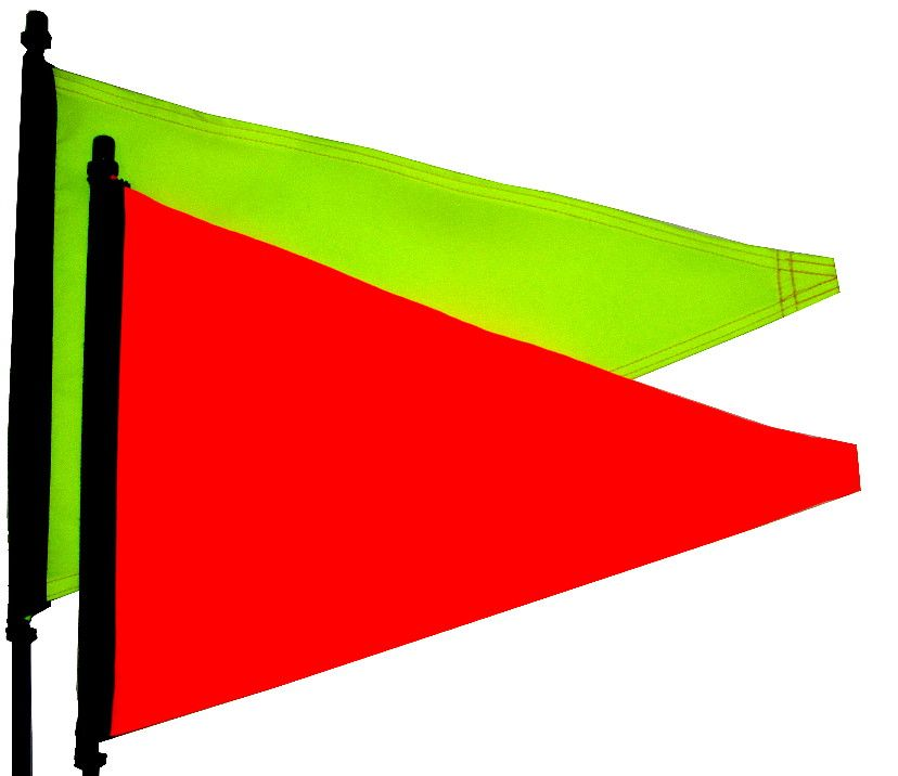 Hi Vis Printer Blank Atv Flags Sand Rail Atv Flag