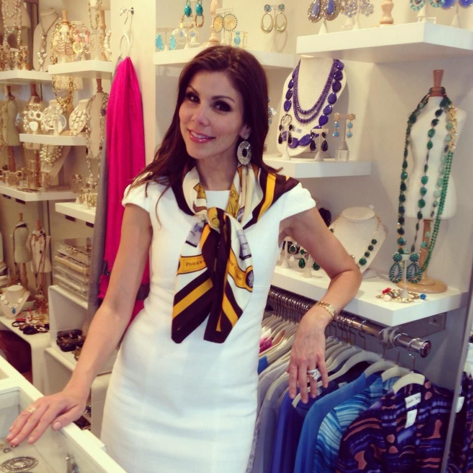 heather dubrow visiting our nyc store celebrity fans