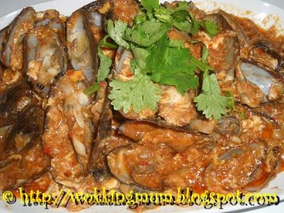 Let's get Wokking!: Chilli Soft Shell Clams | Singapore Food Blog on easy recipes