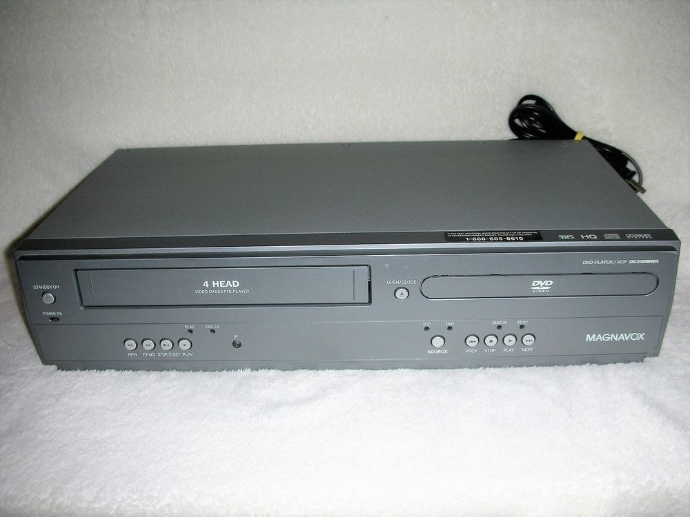 Magnavox DV200MW8 DVD/ VCR Combo/No remote control or cable