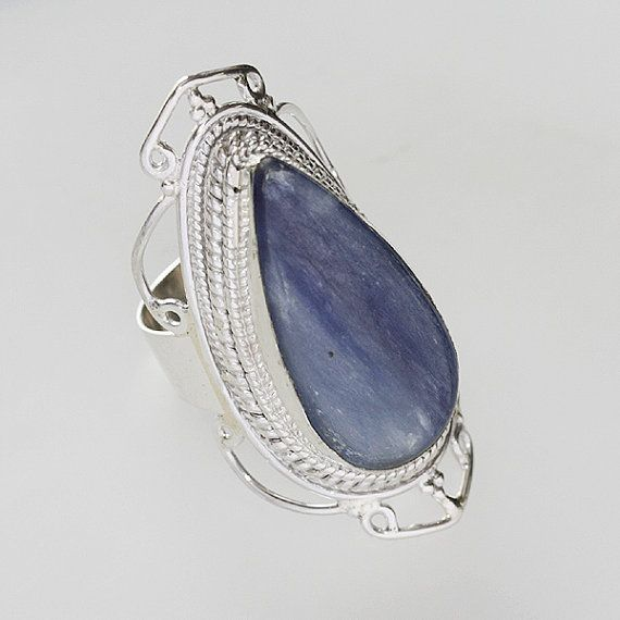 Kyanite Ring An Excellent Stone For by RavishingImpressions
