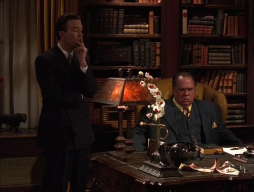 Nero Wolfe, one of the best TV series of all time, and the reason my minor crush on Timothy Hutton developed into full out love for the man!