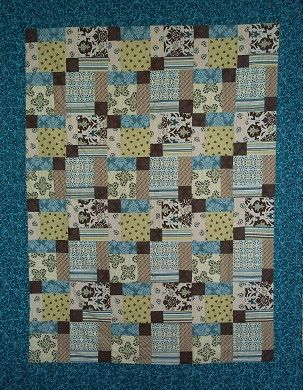 American Homestead: Quilt Class: Disappearing Nine Patch