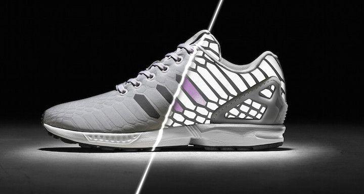 2af2e7e50ec00 ... Adidas ZX Flux Xeno Reflective Limited 3M Hologram B24441 Gray