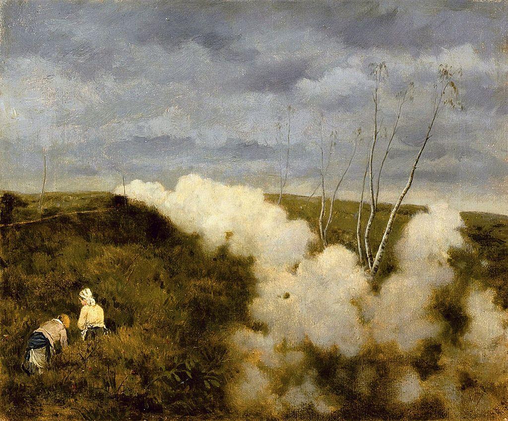 """Immagini Belle Da Dipingere il dipinto realizzato da giuseppe de nittis """"passa un treno"""