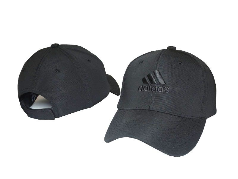 f321e89c929 Mens   Womens Adidas Classic Icon Logo Embroidery Velcro Strap Back Baseball  Adjustable Cap - Black