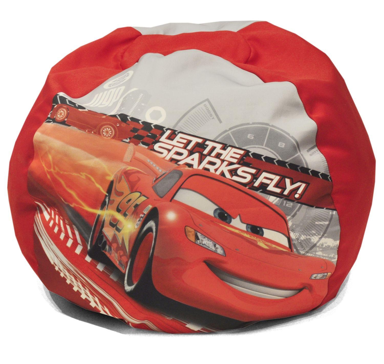 Disney Cars Bean Bag Round Lightning McQueen