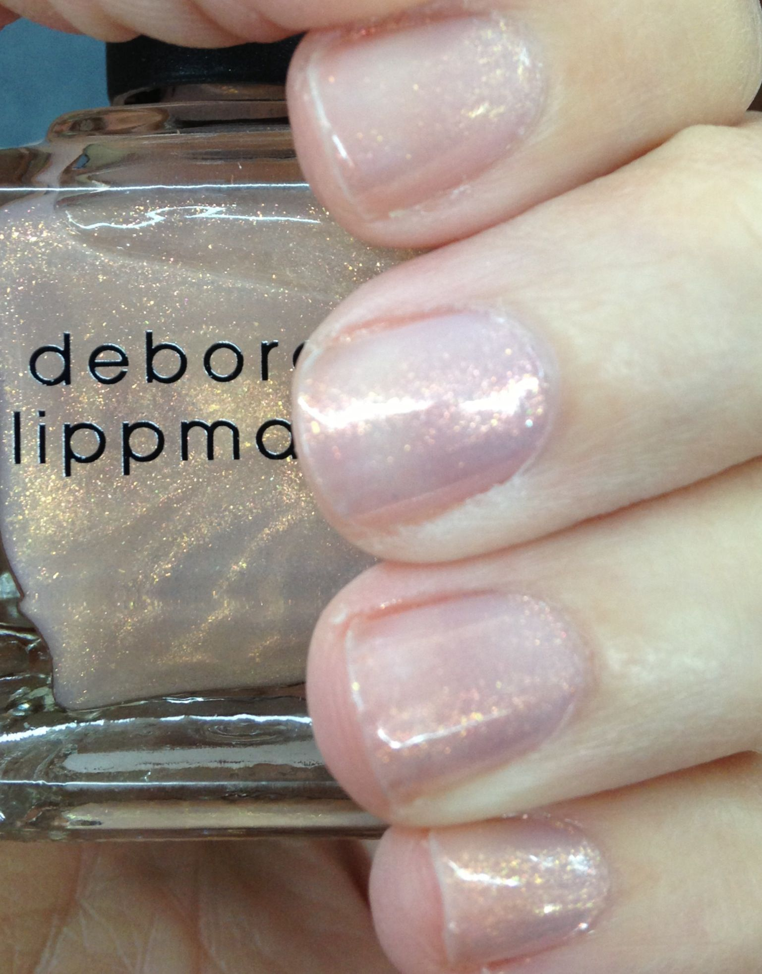 Deborah Lippmann Nail Polish Diamonds and Pearls | Sparkle ...
