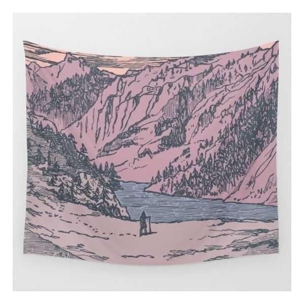 Adventure Is Calling Wall Tapestry (1.950 RUB) ❤ liked on Polyvore featuring home, home decor, wall art, mounted wall art, interior wall decor, home wall decor and tapestry wall art