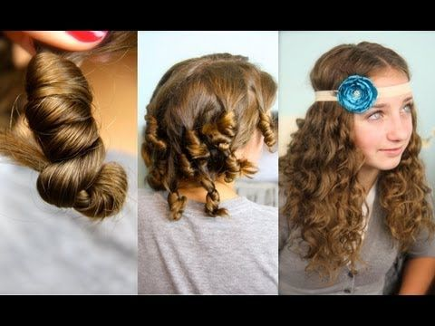 Cocoon Curls | Easy No-Heat Curls Hairstyles {Learn this fun ...