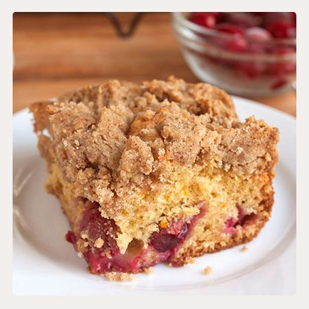 Easy, Crumbly Crumb Cakes