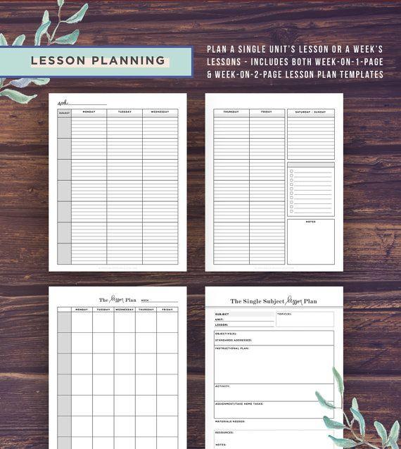 Homeschool Planner Printable, School Planner, Mom, Teacher