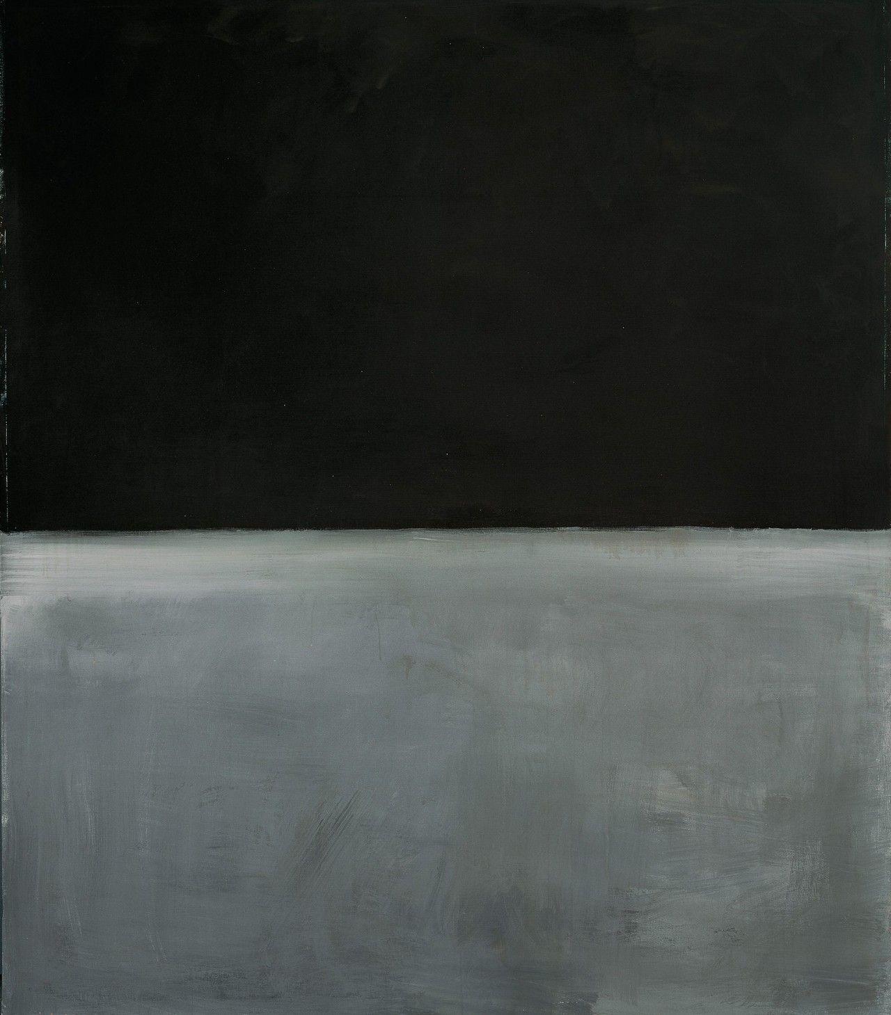 Mark Rothko, Untitled, 1969 Rothko's last work before committing suicide.