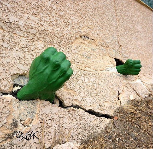 Hier! Eine Portion extra Power für die Woche! #hulk #monday #montag #power #creative