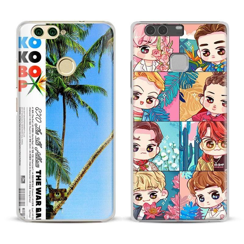 EXO fashion Kpop Boy group Phone Case Cover Shell For Huawei P8 9 ...