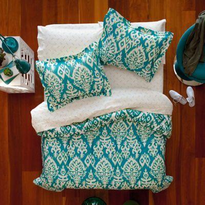 Aeropostale Katya Reversible Comforter Set In Turquoise Room
