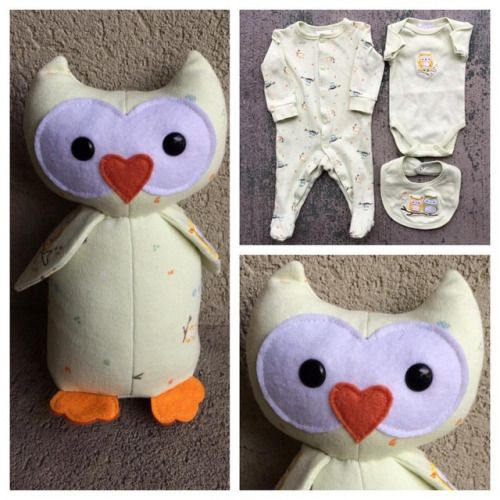 www.nestlingkids.com/product/keepsake-memory-owl-upcycled-from-your-own-fabric-sleepers-hospital-blanket-baby-clothes