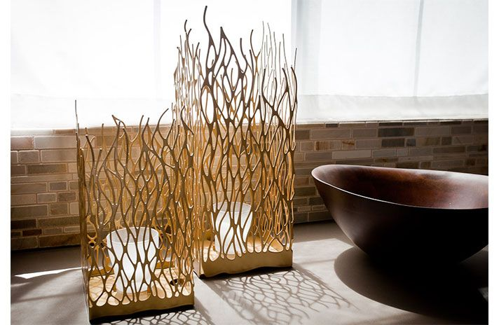 Amazing work on those bamboo lamp bamboo design for House decor accessories
