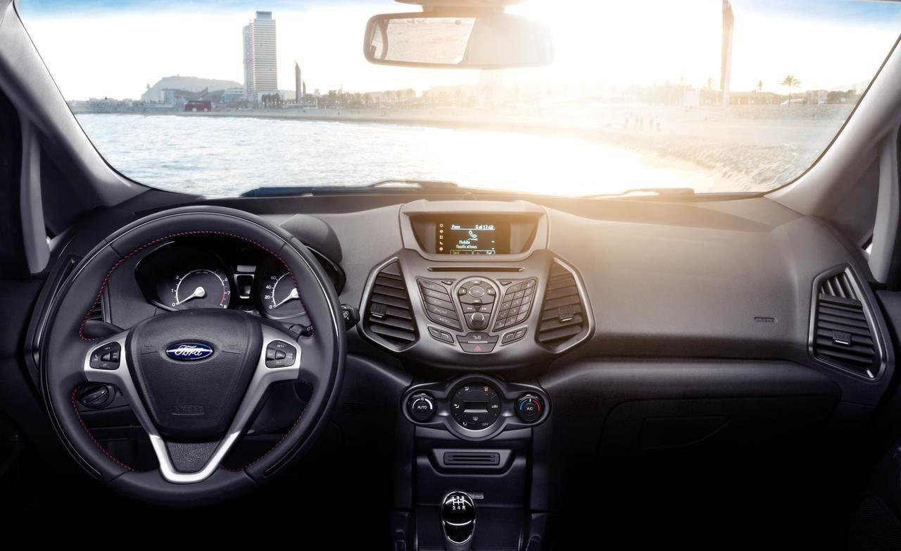 2015 ford ecosport dashboard