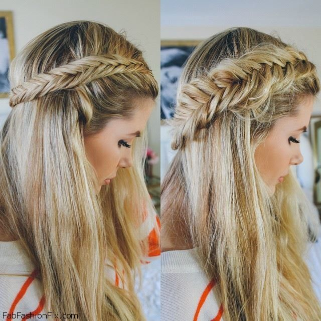 Fishtail Braid Hairstyles Extraordinary Hairblakelively14  Волосы_Идеи_Креатив_Красота_Уход  Pinterest