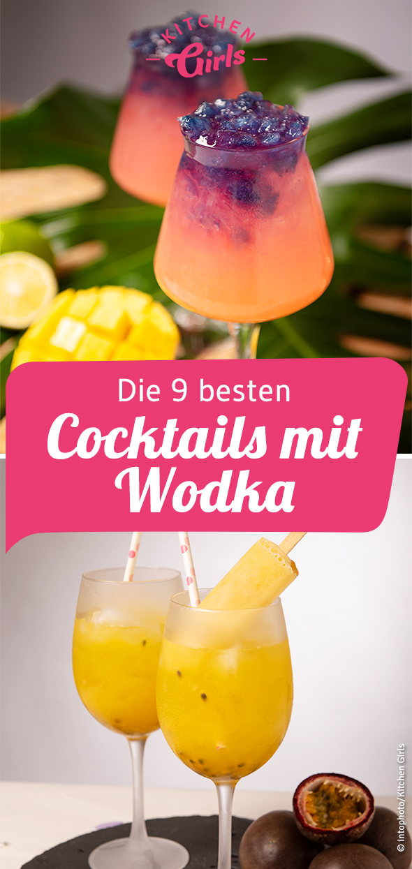 Rezepte: Cocktails mit Wodka