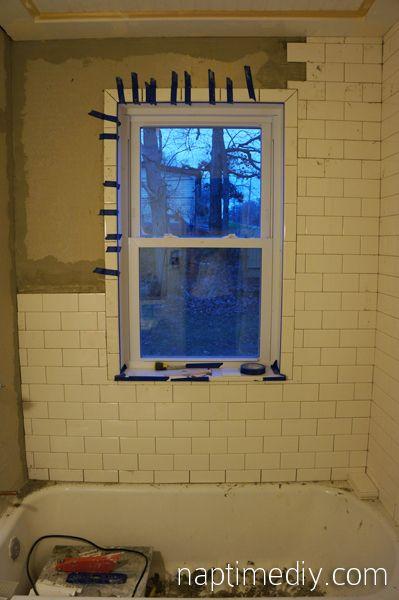 Tile Trim For Window Subway Tile Shower Tile Subway Tile Showers
