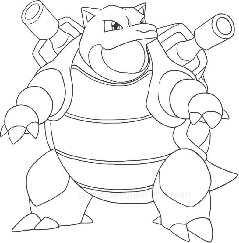 Dibujos Para Colorear De Pokemon Xy Dibujos Para Colorear